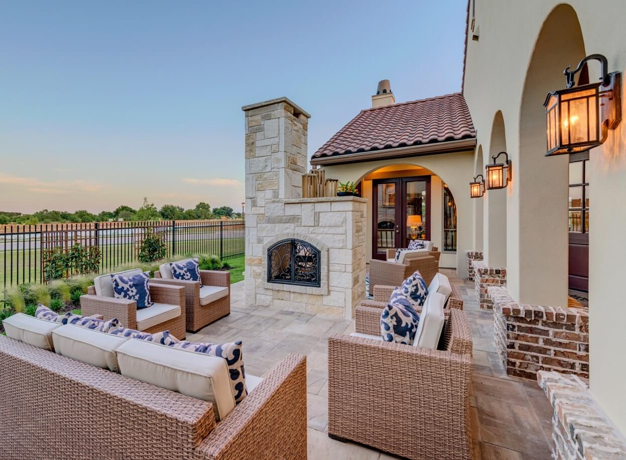 Experience outdoor luxury with darling homes dfw from the rooftops - Home and living ...